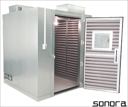 ソノーラテクノロジー株式会社防音室02